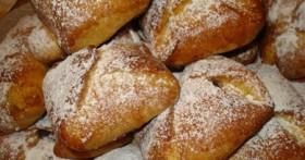 Рецепт сдобных булочек