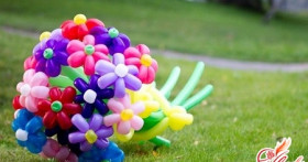 Цветы из шаров своими руками — основы аэродизайна
