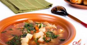 Гороховый суп без мяса — учимся вкусной экономии