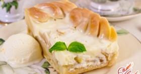Рецепт яблочного пирога со сметаной