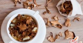Как быстро засушить грибы