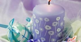 Как сделать свечи своими руками?