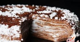 Сладкий блинный торт: десерт на каждый день