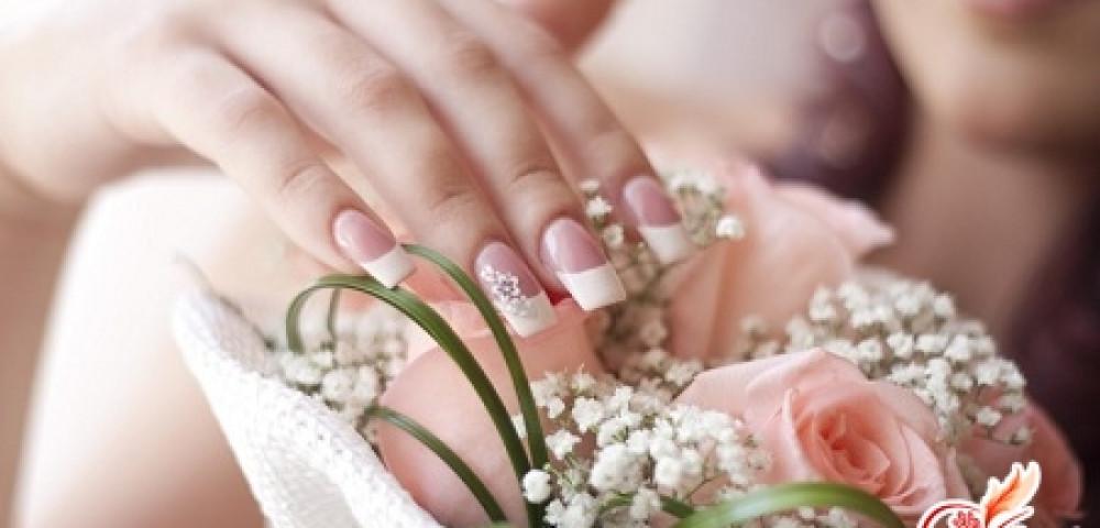 Свадебный маникюр своими руками