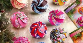 Красивые и ориганильные новогодние шары из бумаги своими руками с пошаговой инструкцией