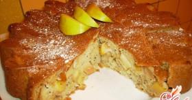 Яблочный пирог со сметаной — лучший вариант домашнего ужина