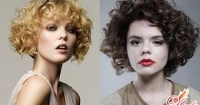 Короткие стрижки для вьющихся волос: разнообразие выбора