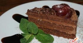 Вкусный десерт: пражский торт