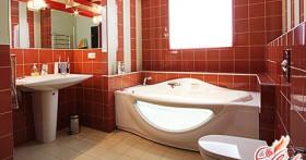 Интерьер ванной комнаты минимальных размеров