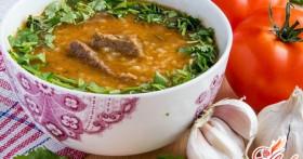 Харчо с бараниной — национальный кавказский суп