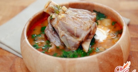 Три рецепта супов с бараниной