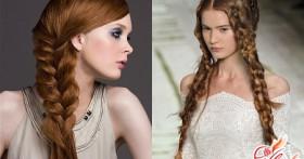 Прически с плетением на длинные волосы: всегда модно, актуально, незабываемо!