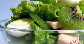 Салат с киви: вкусно и полезно
