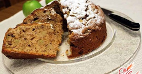 Торт с грецкими орехами — пальчики оближешь