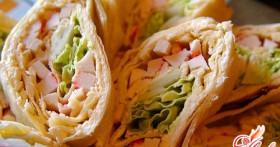 Рулеты из лаваша — рецепт креативных кулинаров