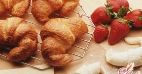 Круассаны — рецепт для приятного завтрака