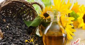 Подсолнечное масло как лечебное средство для нанесения на волосы