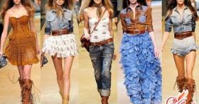 Кантри стиль в одежде для модников и модниц