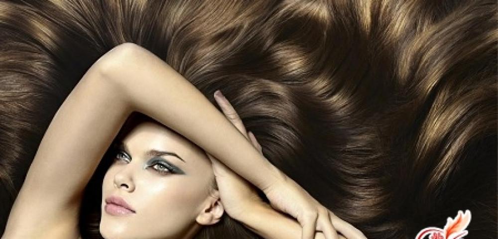 Маска для блеска волос в домашних