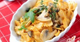 Паста с грибами: тонкости приготовления