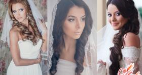Свадебные прически с фатой — выбираем правильное решение