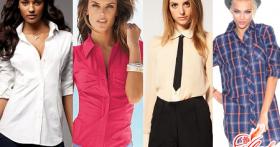 Модные женские рубашки 2016: одежда для стильных леди