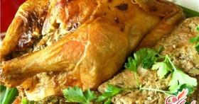 Фаршированная курица – находка для праздничного стола