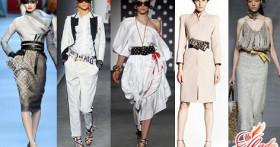 Пояс-корсет — незаменимый и модный аксессуар