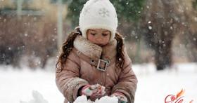 Одеваем ребенка в морозы