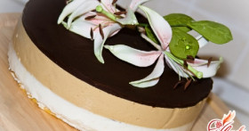 Торт Птичье молоко с манкой. Простые секреты вкусной кухни