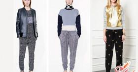 Трикотажные брюки — тренды 2016 года