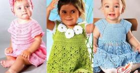 Как связать платье для девочки спицами без выкройки?