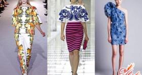 Модные принты в одежде 2016