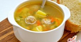 Как приготовить в мультиварке суп с фрикадельками?