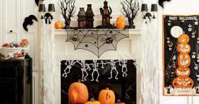 Как украсить дом на Хэллоуин своими руками: интересные идеи с фото