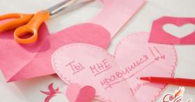 Поделки ко дню святого Валентина для парня: делаем подарок своими руками