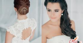 Какую сделать прическу на свадьбу? Выбираем варианты исходя из длины волос