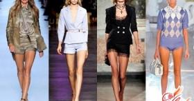 Модные мини-шорты женские: фото и рекомендации