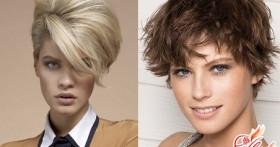 Укладка коротких волос — просто и со вкусом