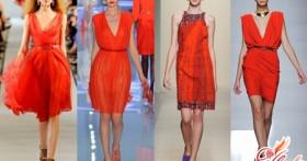 Маленькое красное платье — изюминка вашего гардероба