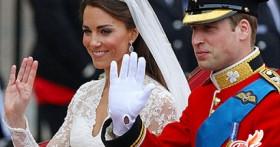 Принц Уильям и Кейт Мидлтон поженились