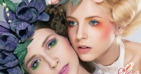 Как правильно наносить дневной макияж для голубых глаз?