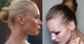 Как сделать красивый пучок из волос? Оригинальная прическа за пять минут