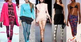 Модные колготки 2016