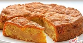 Бисквитный пирог с яблоками, или Классика не стареет!