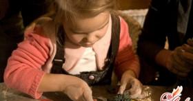 Лепка из глины. Детское творчество