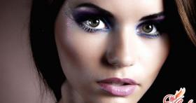 Грамотный вечерний макияж для зеленых глаз