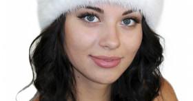 Модные шапки из вязаной норки от «Lemmex.ru»