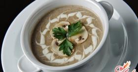 Крем-суп из шампиньонов: быстро и вкусно!