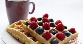 Вафли в вафельнице: рецепт десерта на каждый день